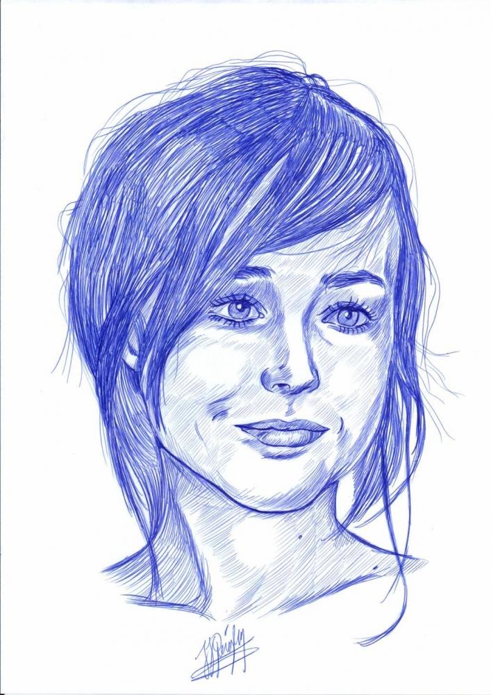 Ellen Page by jjg2018
